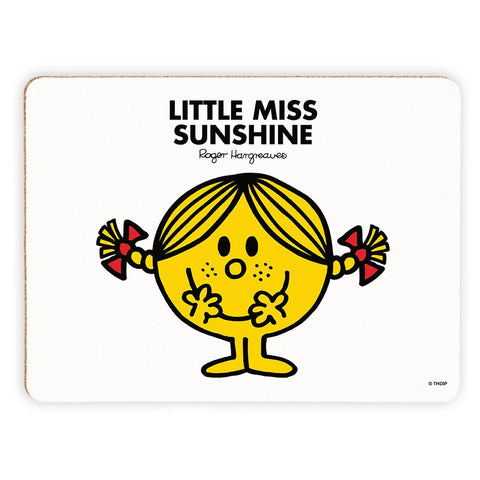 Little Miss Sunshine Cork Placemat