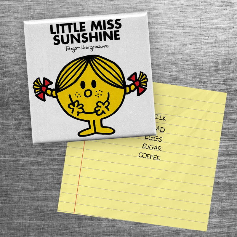 Little Miss Sunshine Square Magnet (Lifestyle)