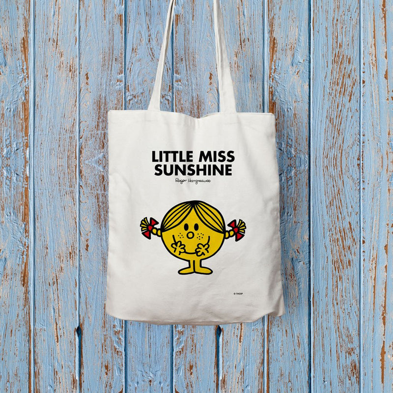 Little Miss Sunshine Long Handled Tote Bag (Lifestyle)