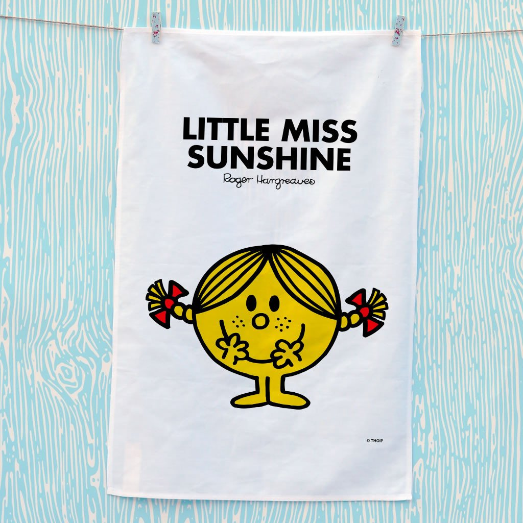 Little Miss Sunshine Tea Towel (Lifestyle)