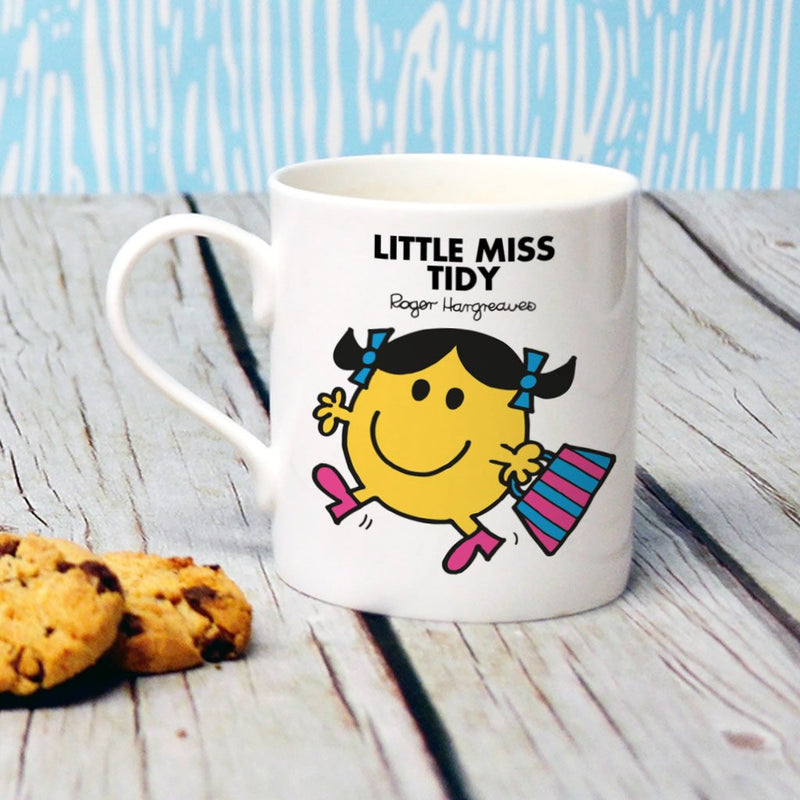 Little Miss Tidy Bone China Mug (Lifestyle)