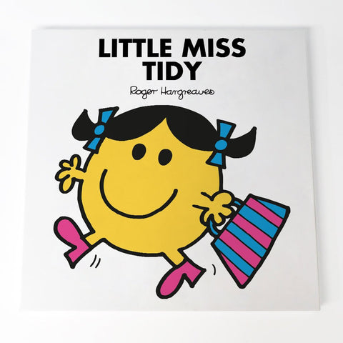 Little Miss Tidy Canvas