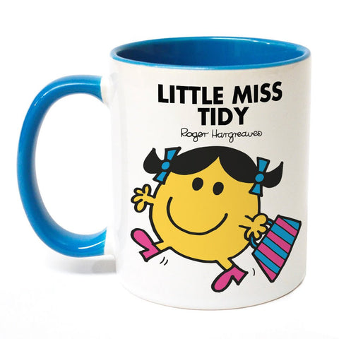 Little Miss Tidy Large Porcelain Colour Handle Mug
