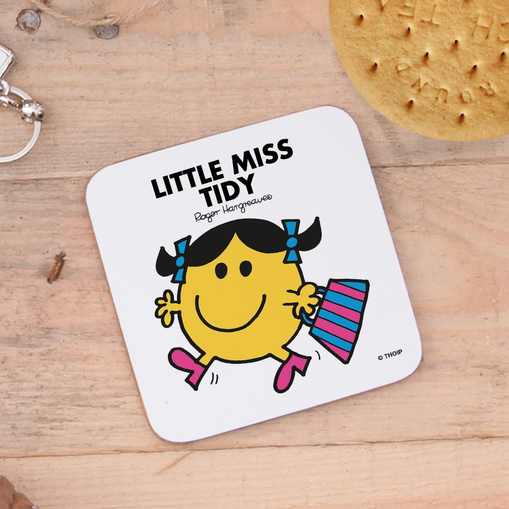 Little Miss Tidy Cork Coaster (Lifestyle)