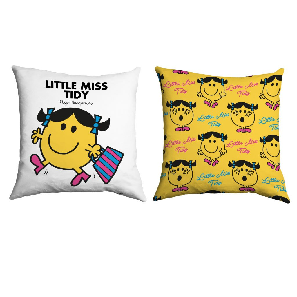 Little Miss Tidy Micro Fibre Cushion