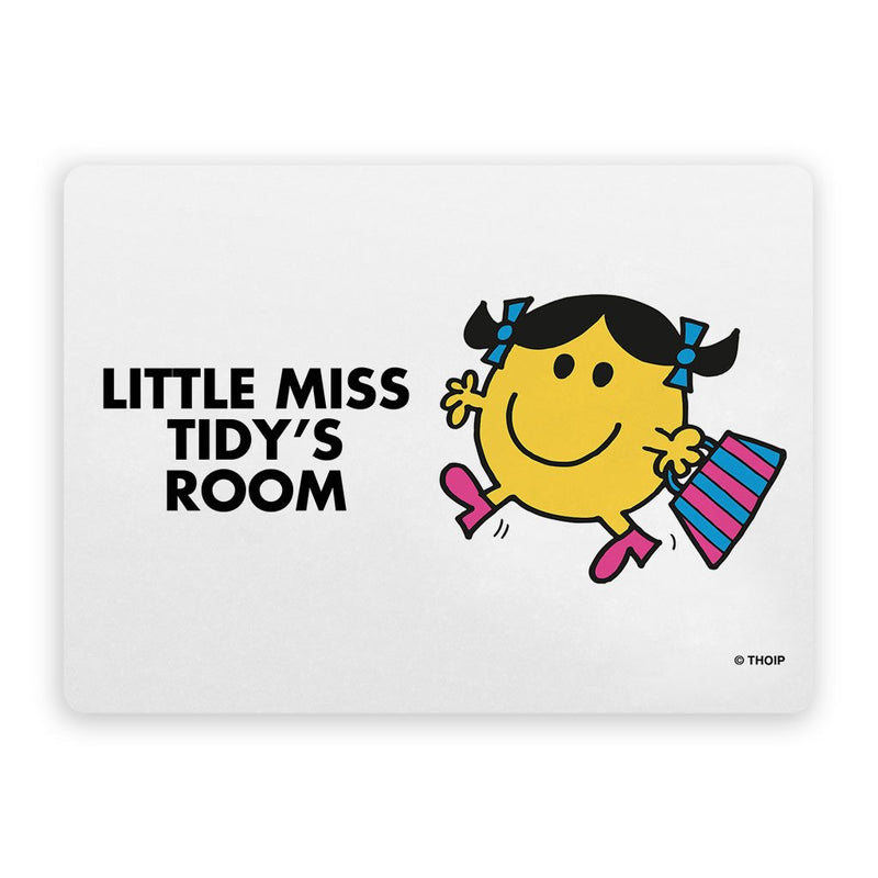 Little Miss Tidy Door Plaque