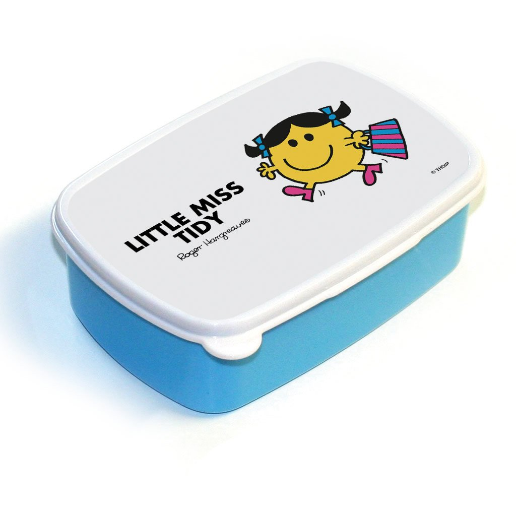 Little Miss Tidy Lunchbox (Blue)