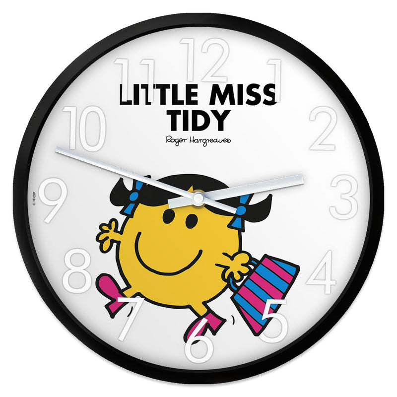 Little Miss Tidy Personalised Clock