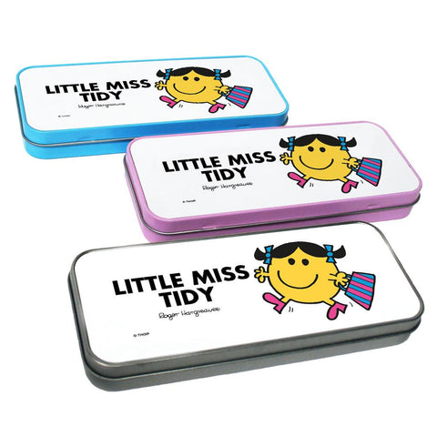Little Miss Tidy Pencil Case Tin