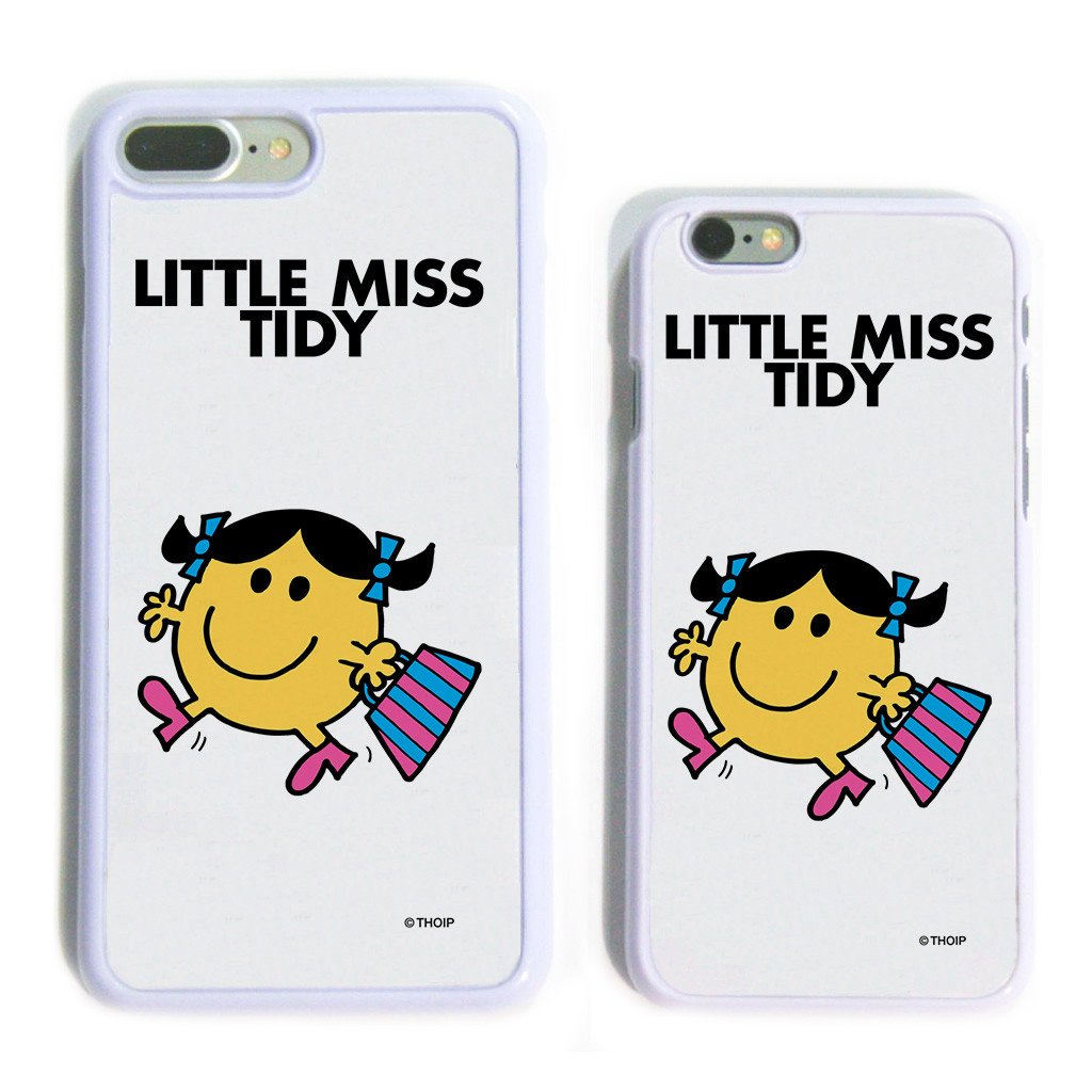 Little Miss Tidy White Phone Case