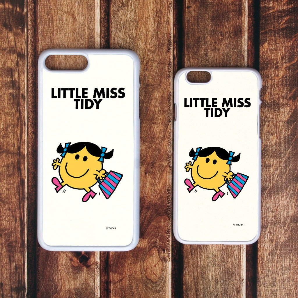 Little Miss Tidy White Phone Case (Lifestyle)
