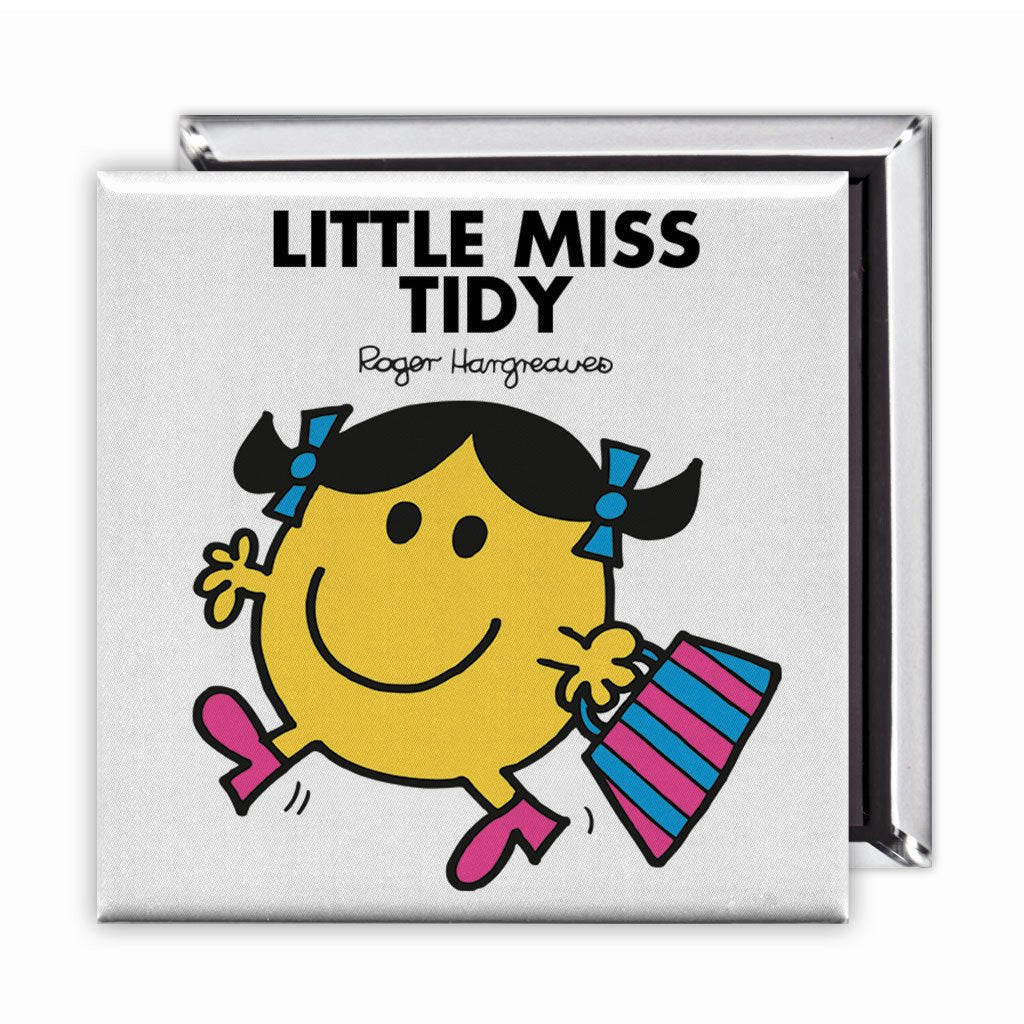 Little Miss Tidy Square Magnet