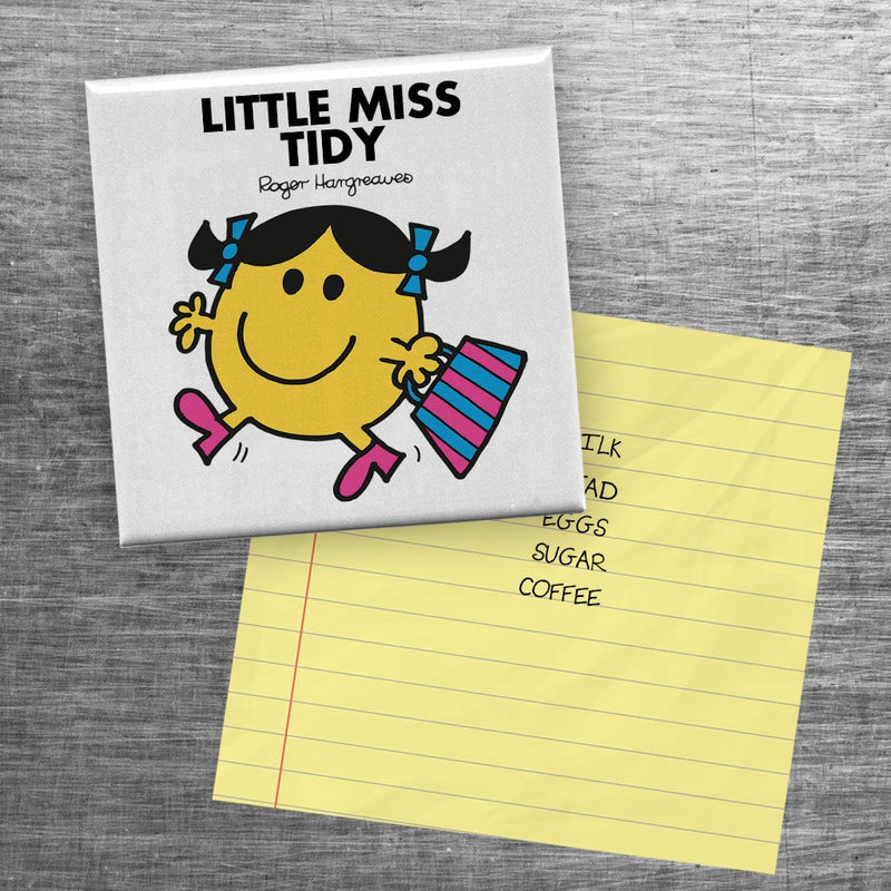 Little Miss Tidy Square Magnet (Lifestyle)