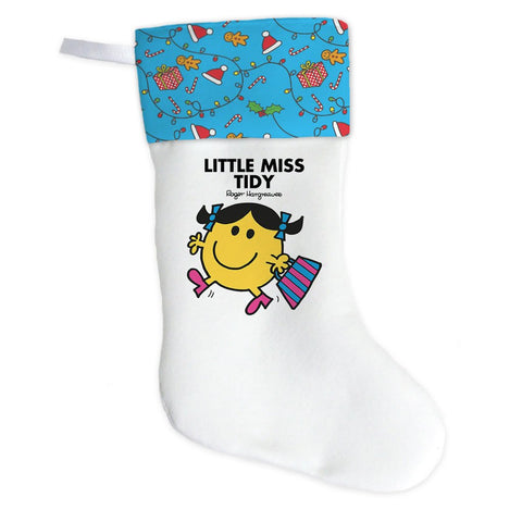 Little Miss Tidy Christmas Stocking (Front)