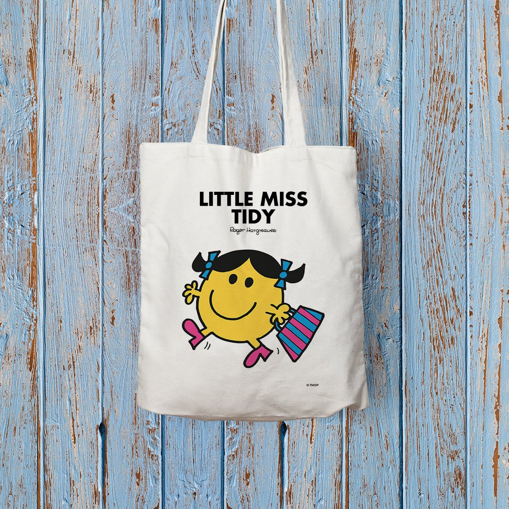 Little Miss Tidy Long Handled Tote Bag (Lifestyle)