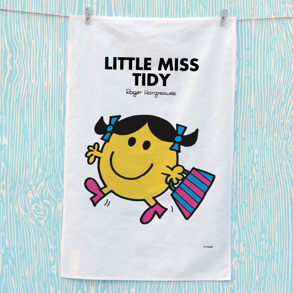 Little Miss Tidy Tea Towel (Lifestyle)