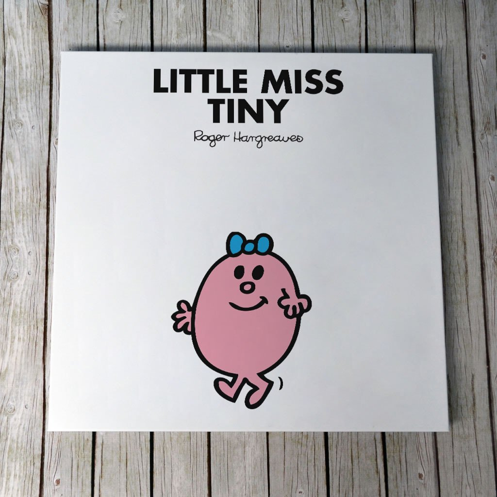 Little Miss Tiny Canvas (Lifestyle)