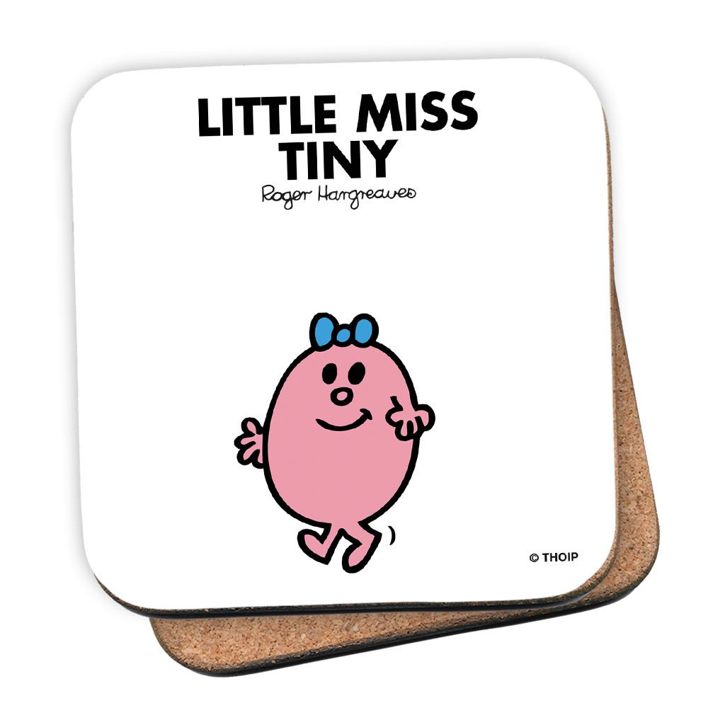 Little Miss Tiny Cork Coaster