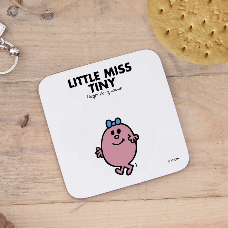 Little Miss Tiny Cork Coaster (Lifestyle)
