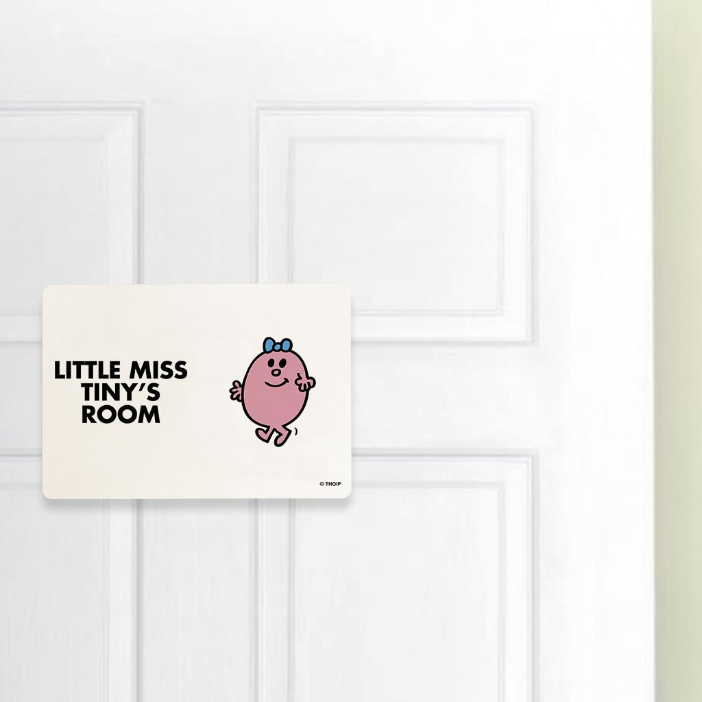Little Miss Tiny Door Plaque (Lifestyle)