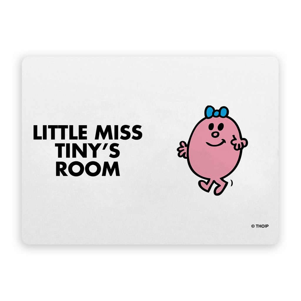 Little Miss Tiny Door Plaque