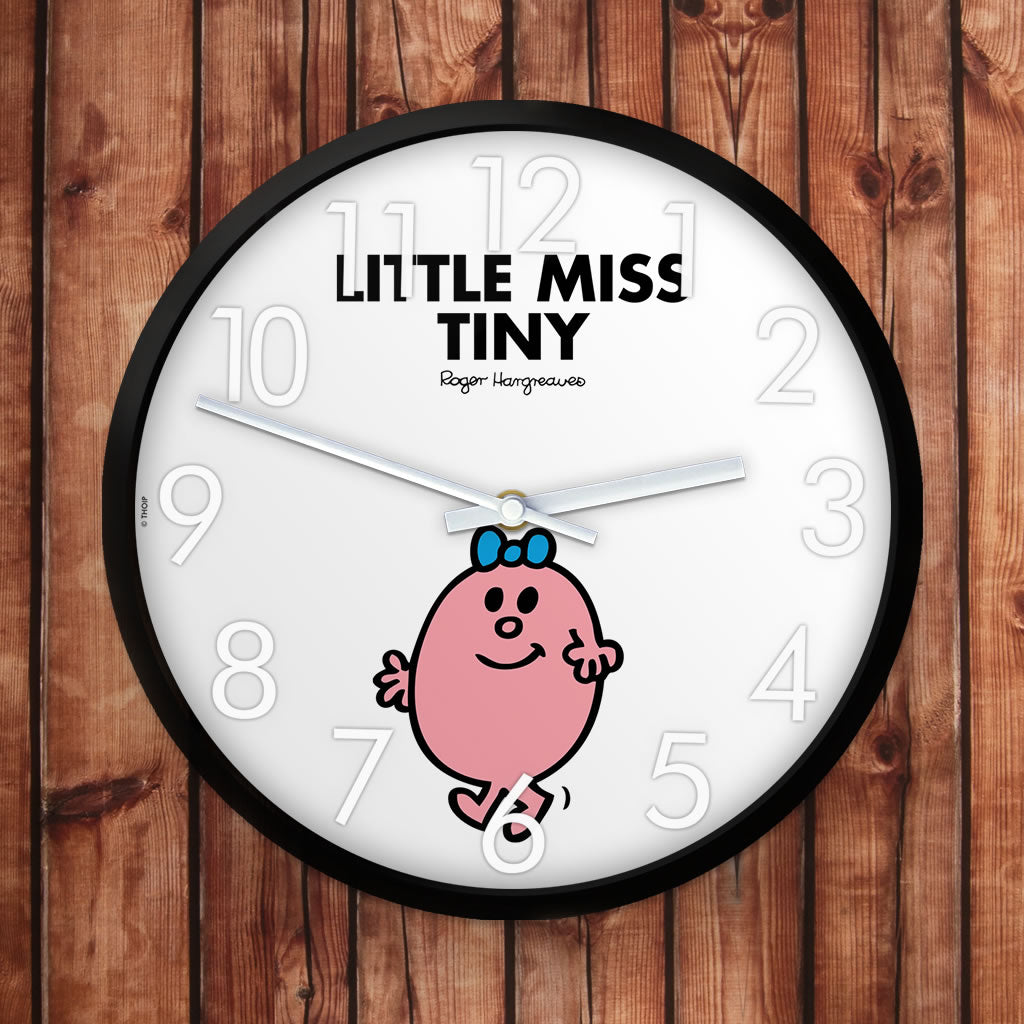Little Miss Tiny Personalised Clock (Lifestyle)