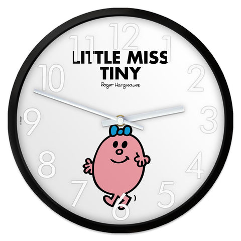 Little Miss Tiny Personalised Clock