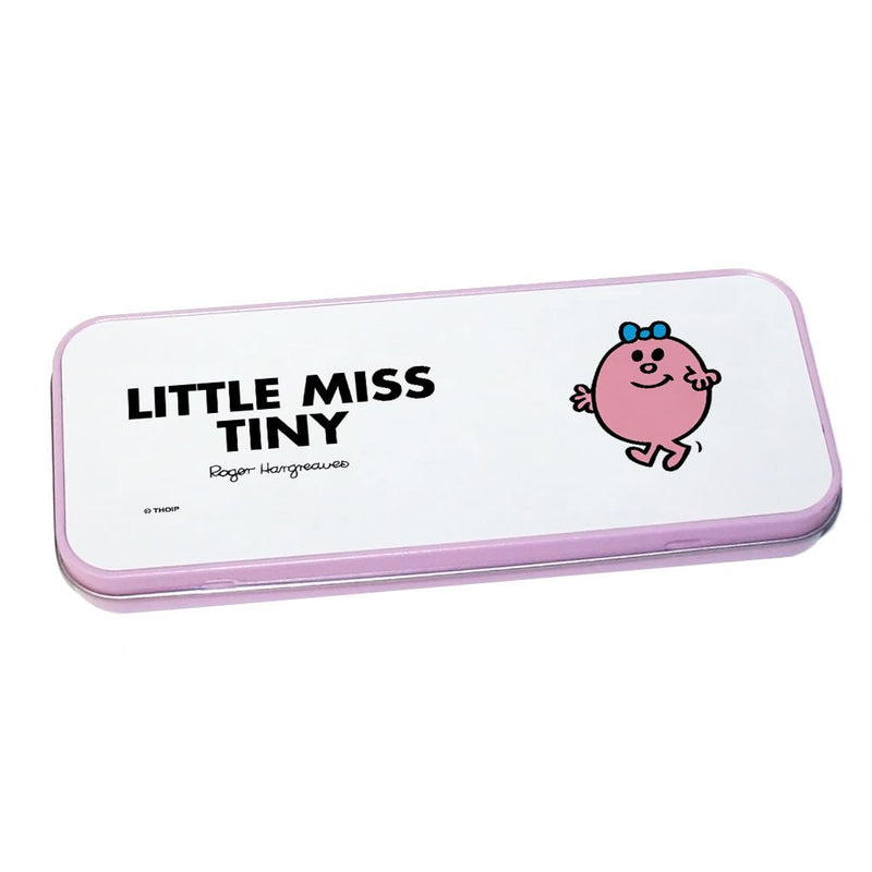 Little Miss Tiny Pencil Case Tin (Pink)