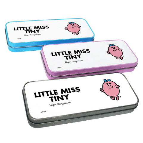 Little Miss Tiny Pencil Case Tin