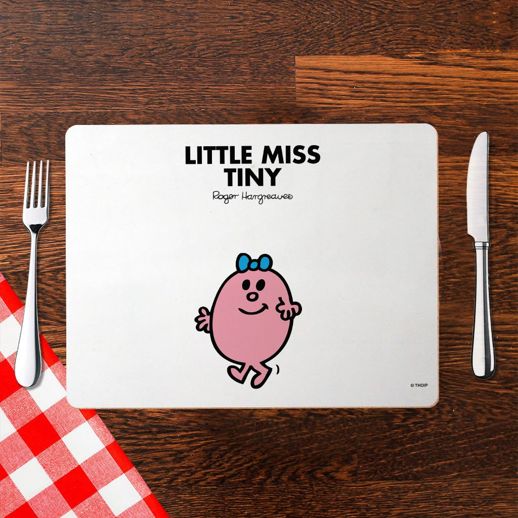 Little Miss Tiny Cork Placemat (Lifestyle)