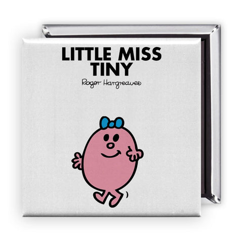 Little Miss Tiny Square Magnet