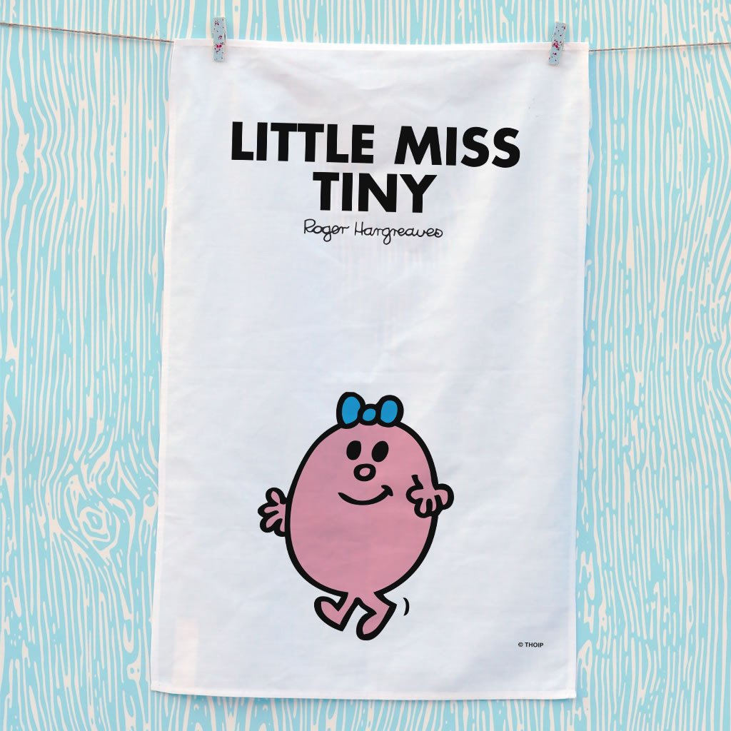 Little Miss Tiny Tea Towel (Lifestyle)