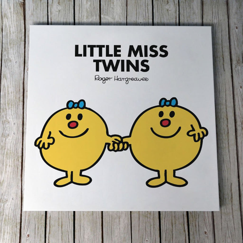 Little Miss Twins Canvas (Lifestyle)