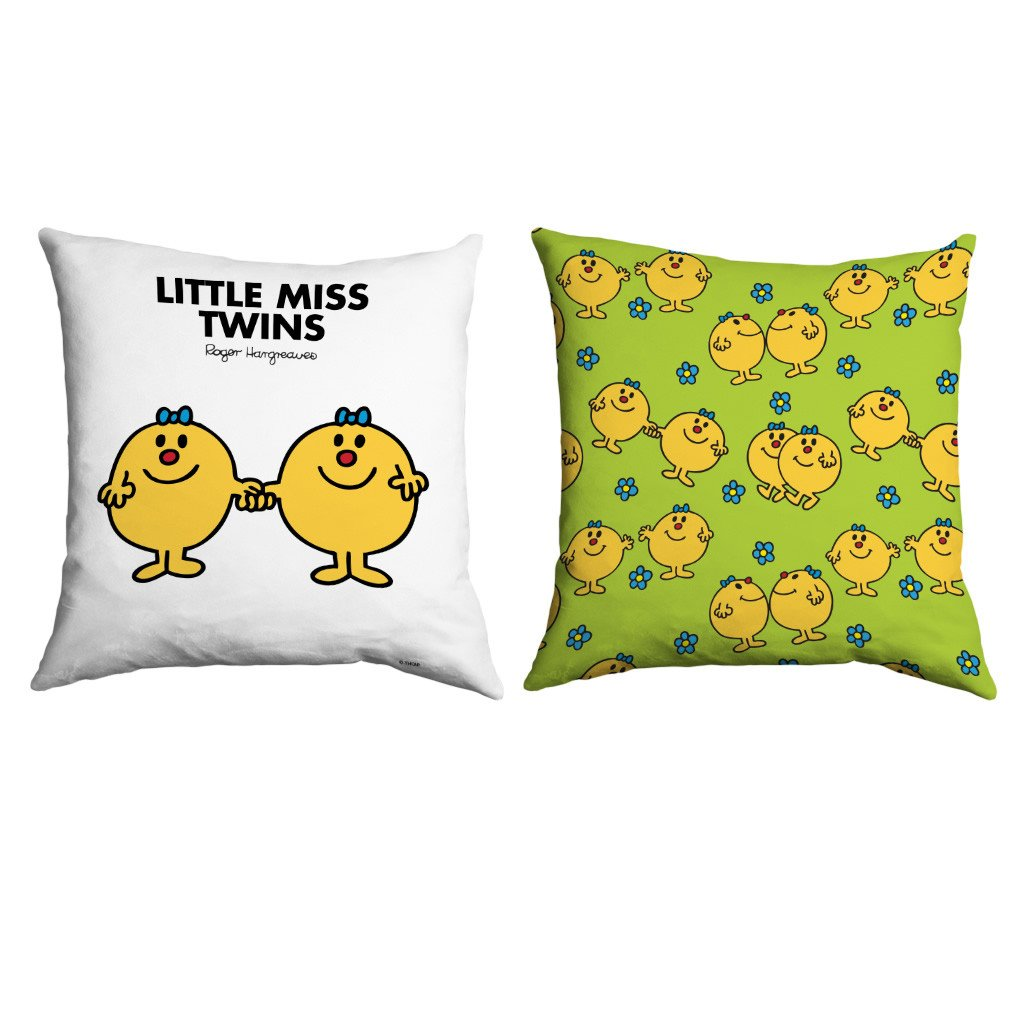 Little Miss Twins Micro Fibre Cushion