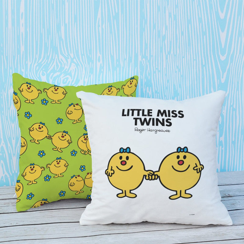 Little Miss Twins Micro Fibre Cushion (Lifestyle)