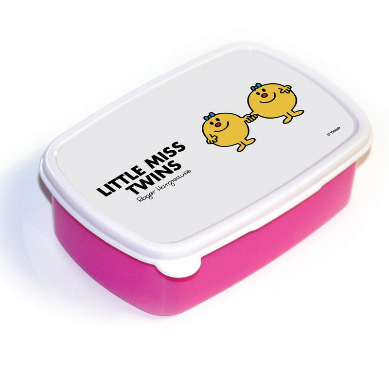 Little Miss Twins Lunchbox (Pink)