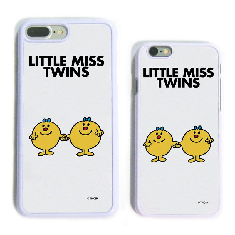 Little Miss Twins White Phone Case