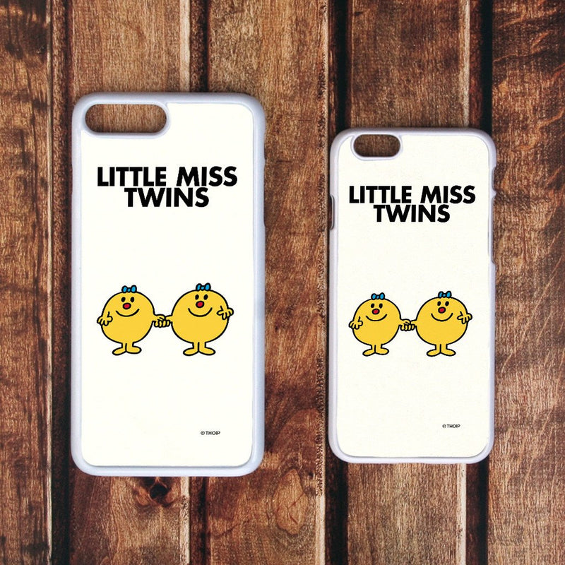 Little Miss Twins White Phone Case (Lifestyle)