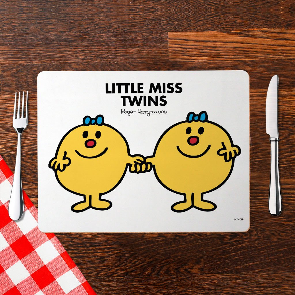 Little Miss Twins Cork Placemat (Lifestyle)