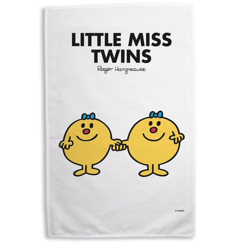 Little Miss Twins Tea Towel
