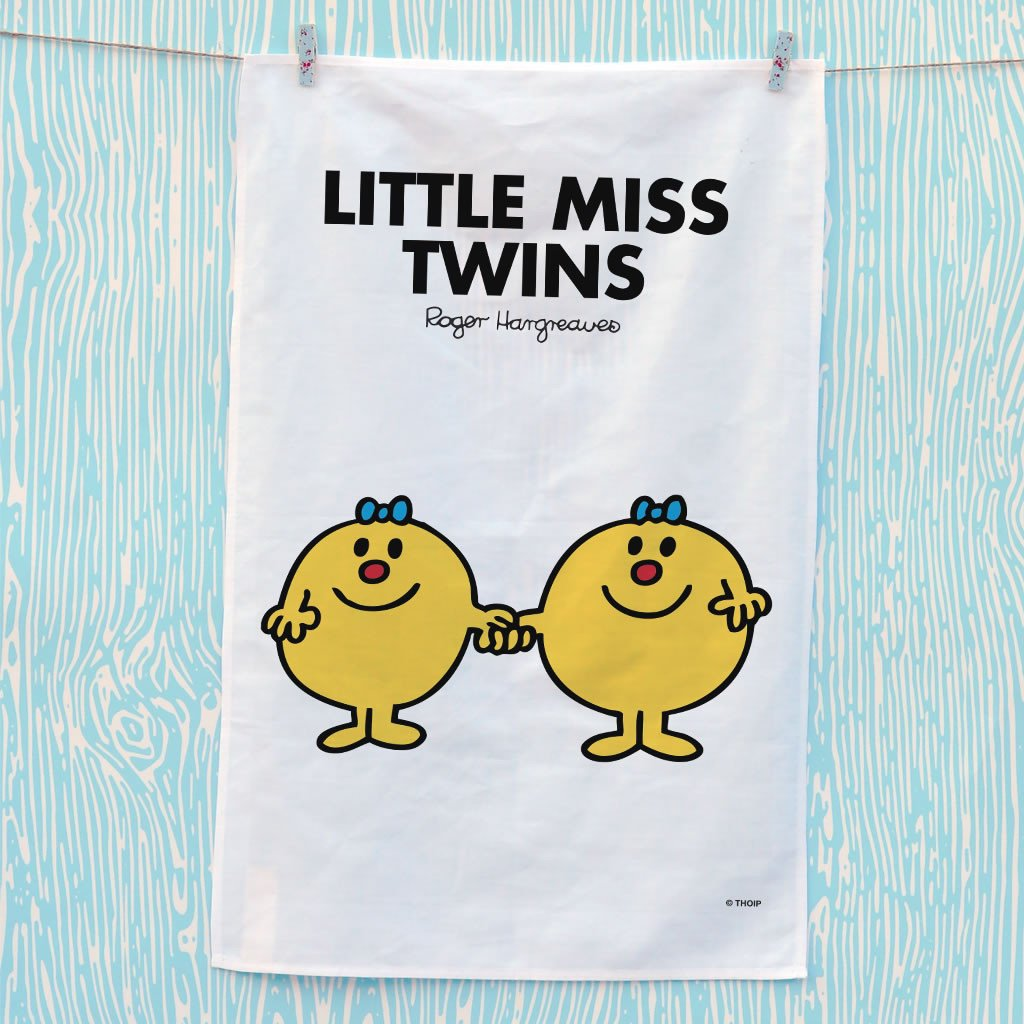 Little Miss Twins Tea Towel (Lifestyle)