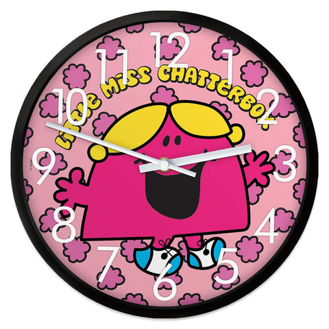 Little Miss Chatterbox Retro Clock