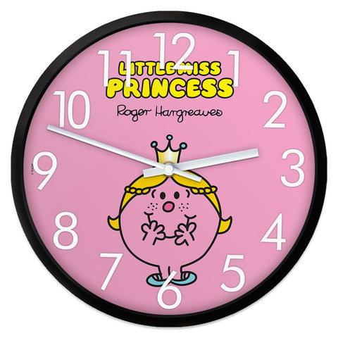 Little Miss Princess Retro Clock