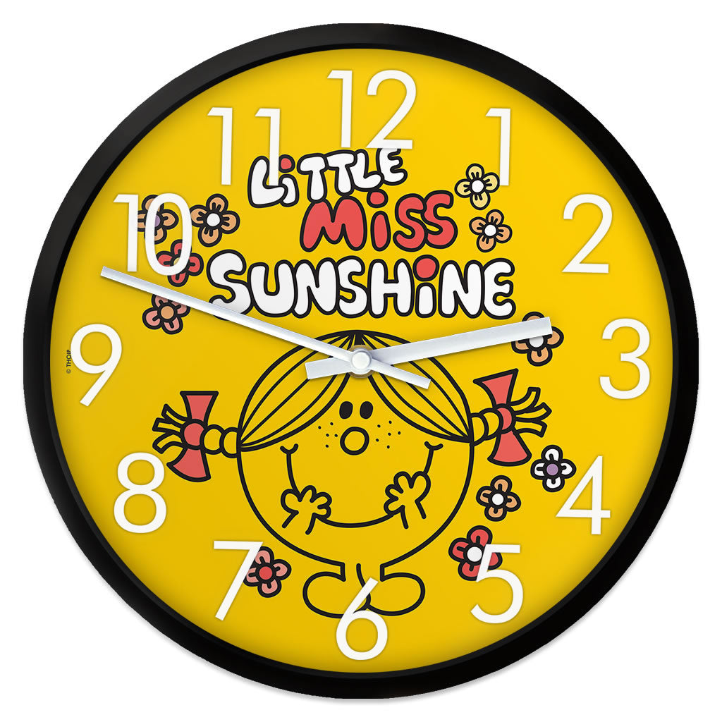Little Miss Sunshine Retro Clock