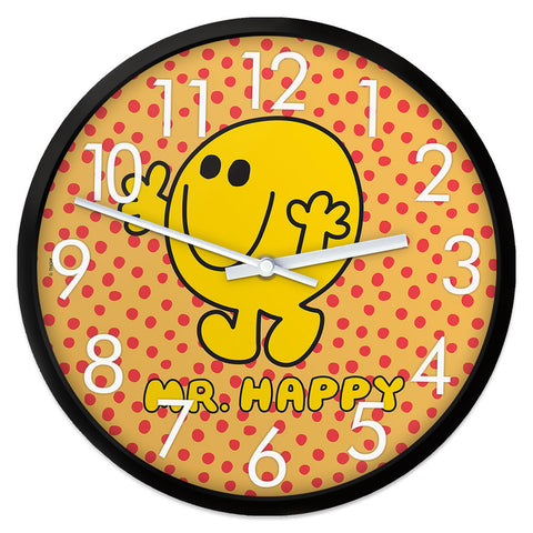 Mr. Happy Retro Clock