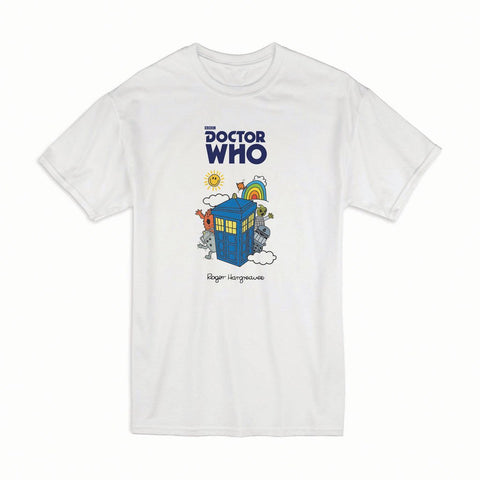 Monsters Tardis Adult T-shirt