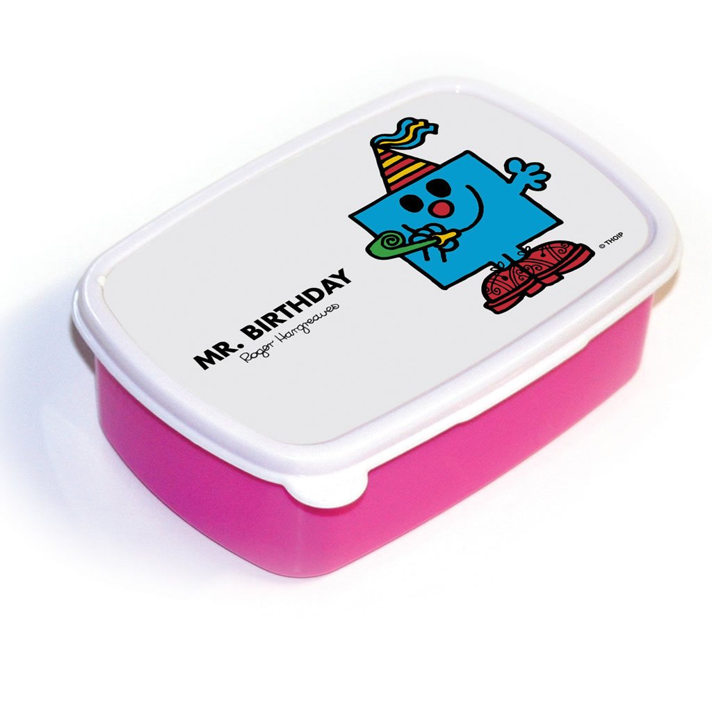 Mr. Birthday Lunchbox (Pink)