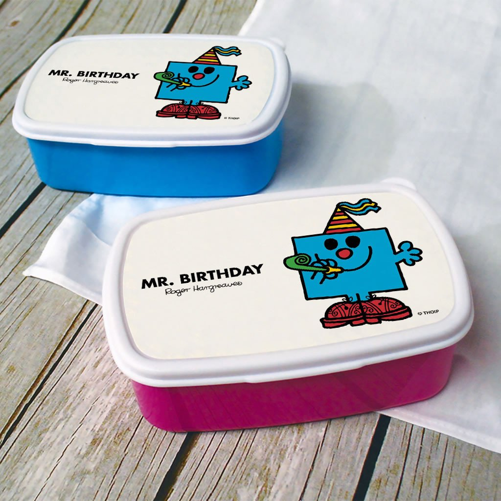 Mr. Birthday Lunchbox (Lifestyle)