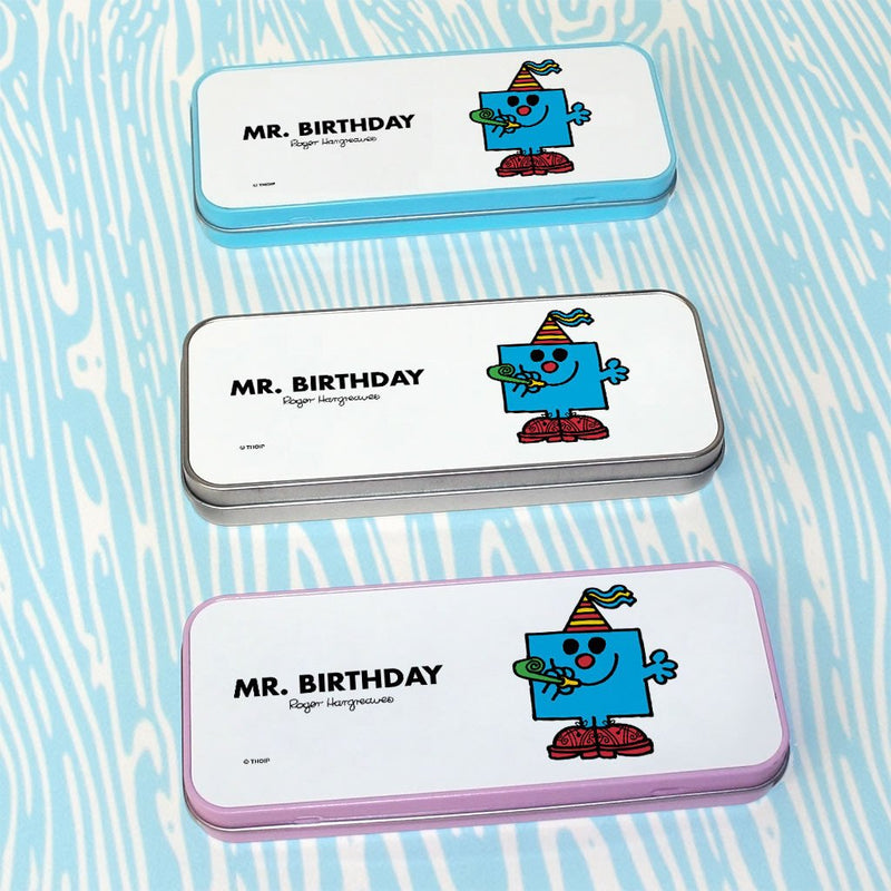 Mr. Birthday Pencil Case Tin (Lifestyle)