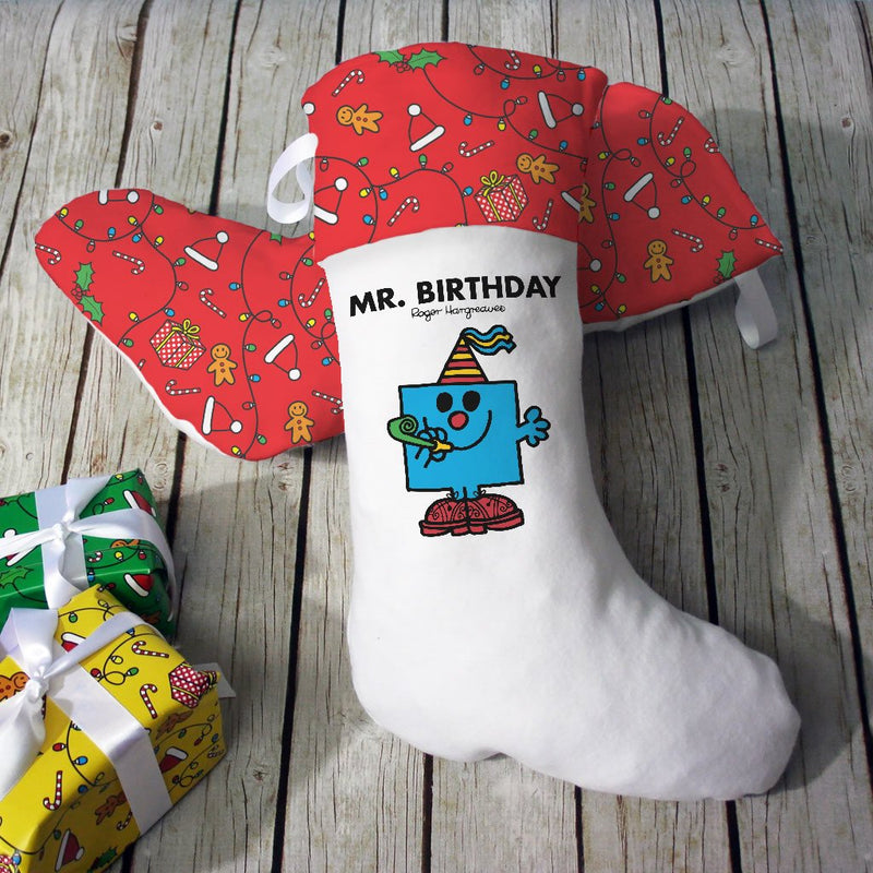 Mr. Birthday Christmas Stocking (Lifestyle)